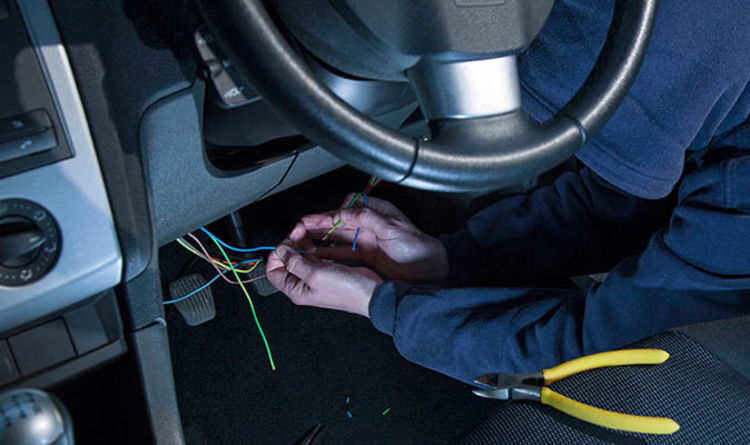 Car theft SCANDAL: Most thieves get away with £200 FINE