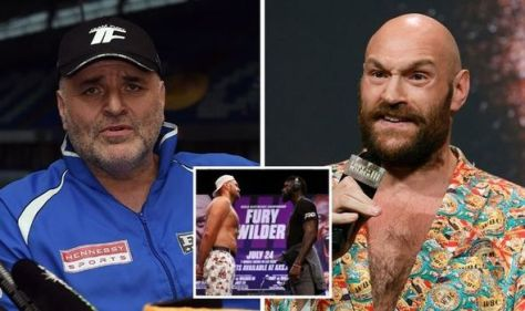 Tyson Fury's dad banned from Deontay Wilder fight as he opens up on missing bout