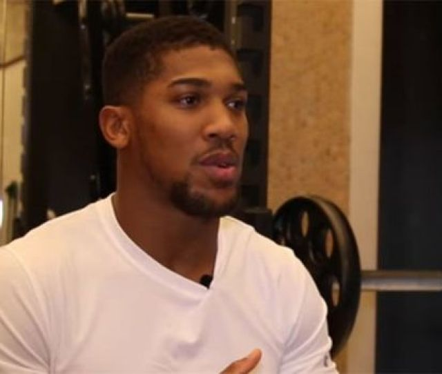 Anthony Joshua Deontay Wilder Anthony Joshua Has Revealed His Desperateness For