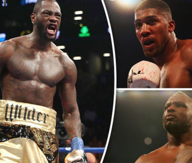 Deontay Wilder Getty Deontay Wilder Wants To Fight Anthony Joshua