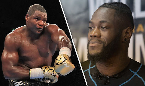 Deontay Wilder and Luis Ortiz