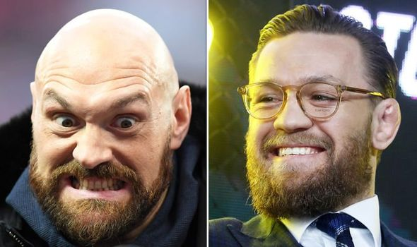 Tyson Fury and Conor McGregor