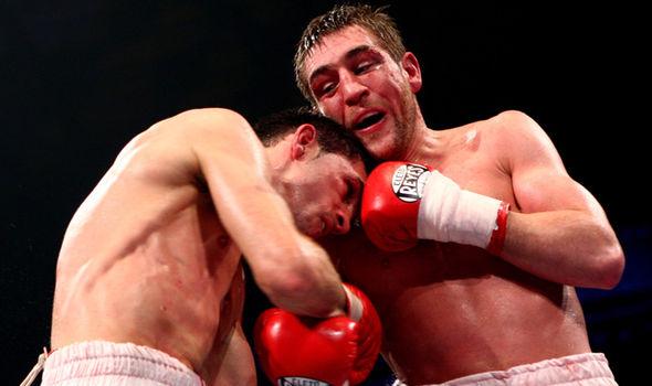 Boxer Alex Arthur