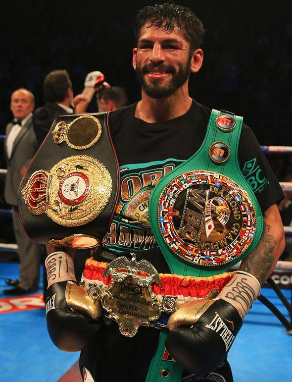 Boxer Jorge Linares