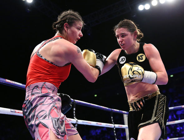 Boxer Katie Taylor