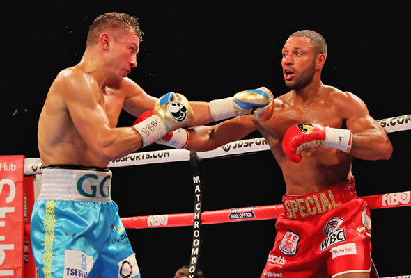 Kell Brook and Gennady Golovkin