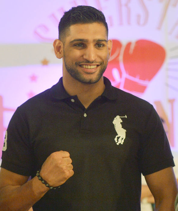 British boxer Amir Khan
