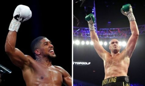 Anthony Joshua and Tyson Fury have secret exit clause which could derail £200m boxing deal
