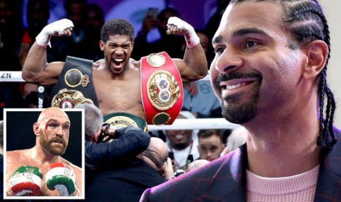 David Haye has Anthony Joshua theory ahead of blockbuster Tyson Fury fight - EXCLUSIVE