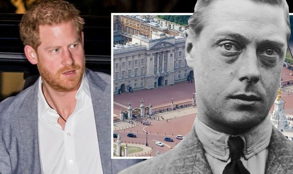 Prince Harry and King Edward VIII