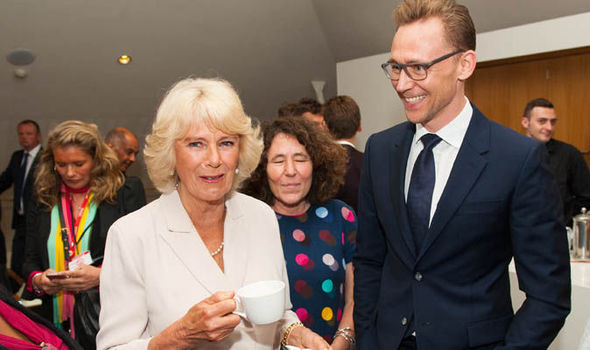 Camilla and Tom Hiddlestone