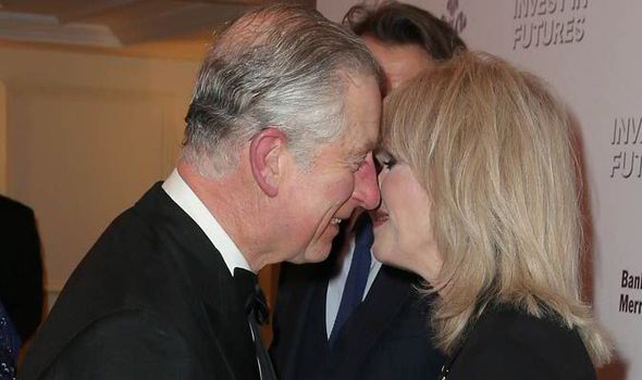 Image result for prince charles and joanna lumley