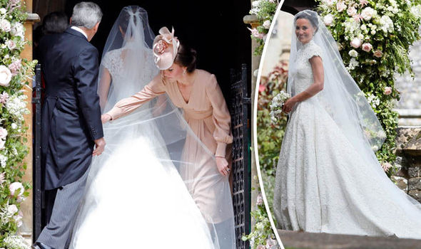 Pippa Middleton Wedding: Giles Deacon Dress Is A Success