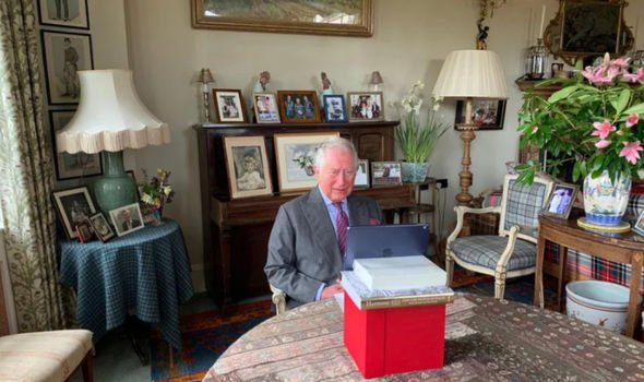 Charles allegedly enraged William by putting some private photographs on display
