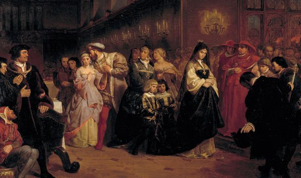 Cromwell helped Henry secured a divorce from Catherine of Aragon so he could wed Anne
