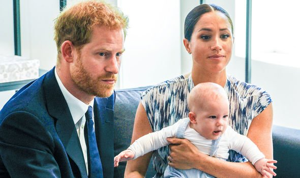 Harry and Meghan moved to California with their son Archie