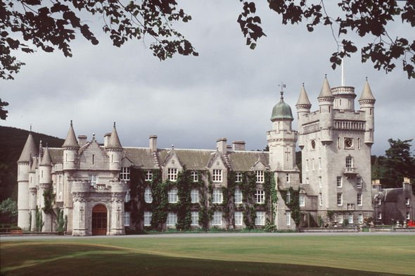 Her Majesty arrived at Balmoral Castle today