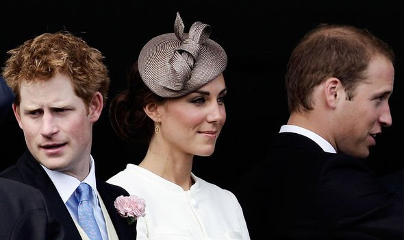 Kate first started dating William in her twenties, so has known Harry for a long time