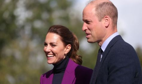 Kate and William Northern Ireland