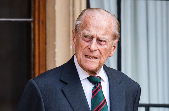 Philip health: The Prince was admitted to hospital on Tuesday after feeling unwell for a few days