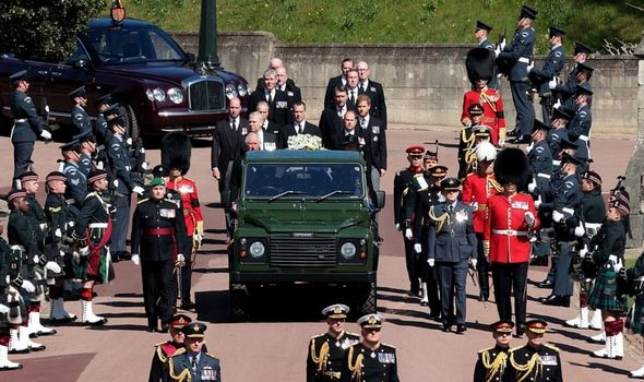 Prince Philip's funeral was witnessed by millions of TV viewers