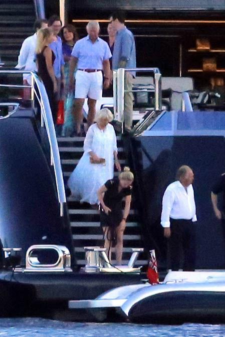 Prince Charles And Camilla Duchess Of Cornwall Holiday On