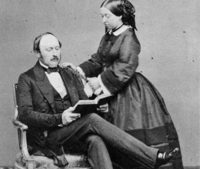 Queen Victoria And Her Husband Prince Albert