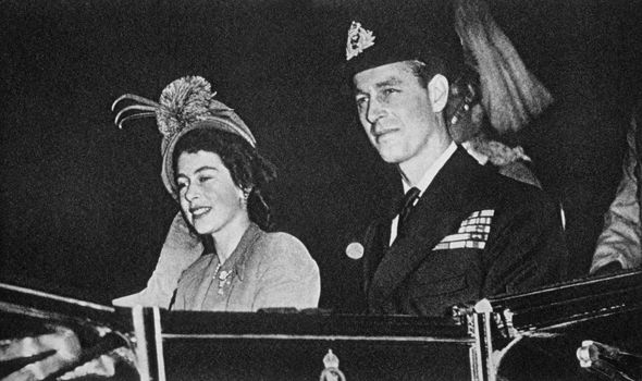 Royal romance: The pair have been married for more than 70 years