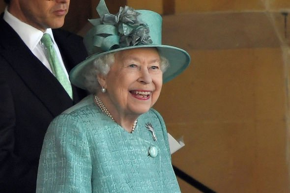 The Queen has arrived at her favorite residence