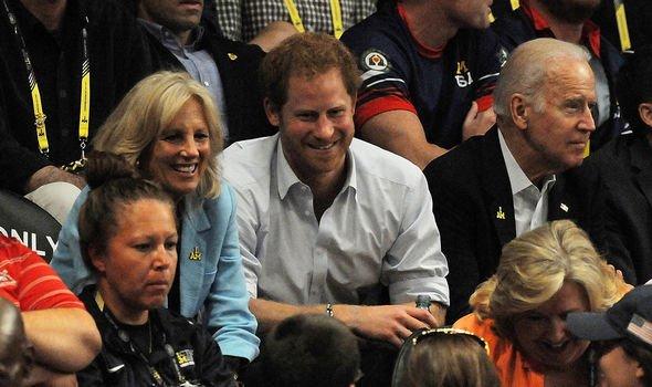 jill biden meeting queen joe biden windsor castle prince harry invictus games royal news