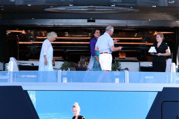 Prince Charles & Camilla Parker Bowles on holiday