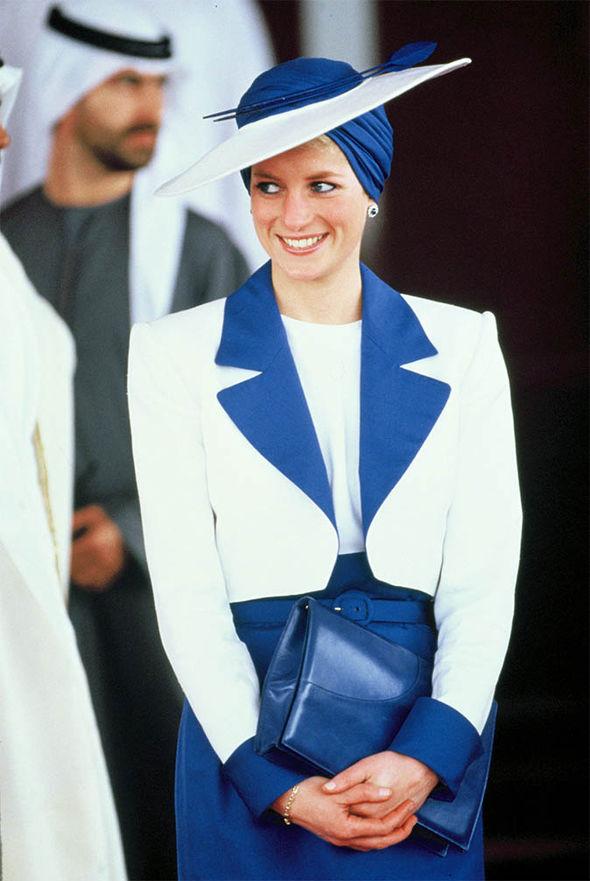 Princess Diana visits Dubai