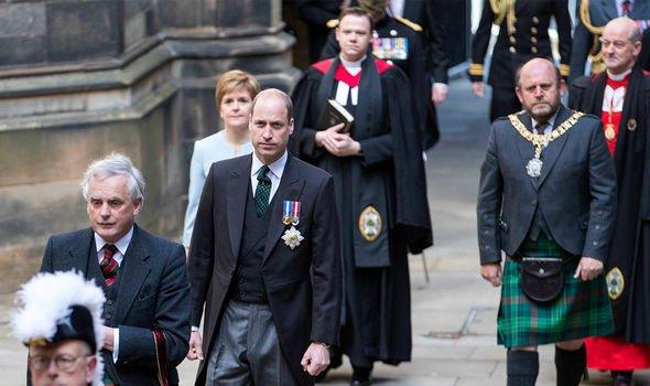 royal family news scotland prince william kate middleton tour independence news