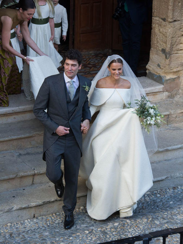 Lady Charlotte Marries Billionaire Fianc In Fairytale