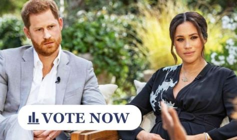 Royal POLL: Should Prince Harry and Meghan Markle's Oprah interview have won an Emmy? VOTE