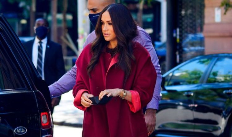 Prince Harry and Meghan Markle head out to Harlem school for latest leg of New York tour
