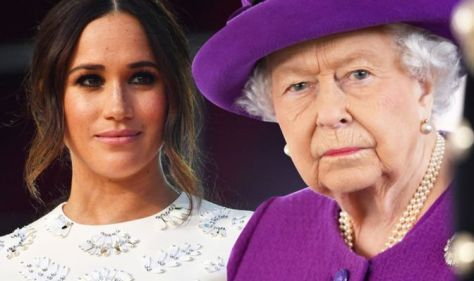 Queen 'scolded Meghan' after 'tantrum' - 'she gets the tiara she's given', author claims