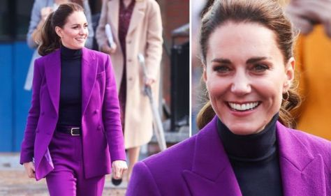 Kate and William out for union-boosting NI visit hours after dazzling at Bond premiere