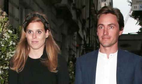 Princess Beatrice and Edoardo pictured with Sienna for first time since baby's birth