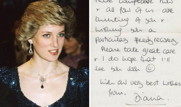 Princess Diana Note Reveals Prince Williams Love For