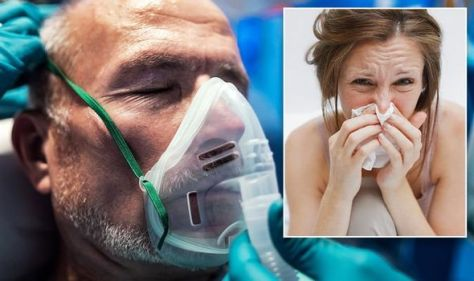 Covid warning for co-infection with flu - 'Significant risk of death' says expert