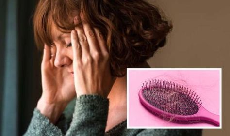 Hair loss: Five ways to tackle menopausal hair changes - expert advice