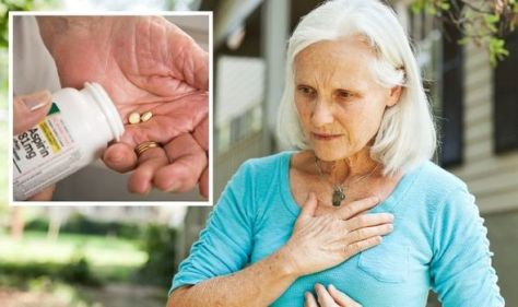 Heart attack: Over 60s warned not to take common painkiller - 'potentially serious' risk