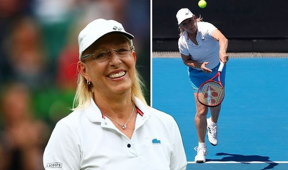 Tennis champ was diagnosed with breast cancer