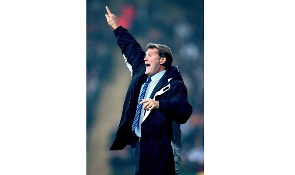 As manager of Wolverhampton Wanderers in 2004