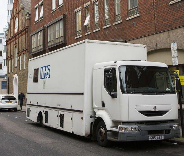 NHS mobile unit
