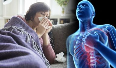 'Flu symptoms' could actually be a sign of a serious heart condition