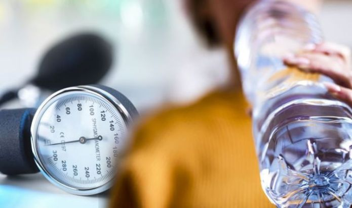 High blood pressure: Water is key in helping to lower risk and your reading