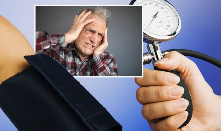 High blood pressure: Double vision and three other perceptible symptoms to look for