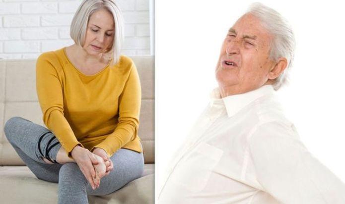 Arthritis: Four stages of the progressive disease rheumatoid arthritis